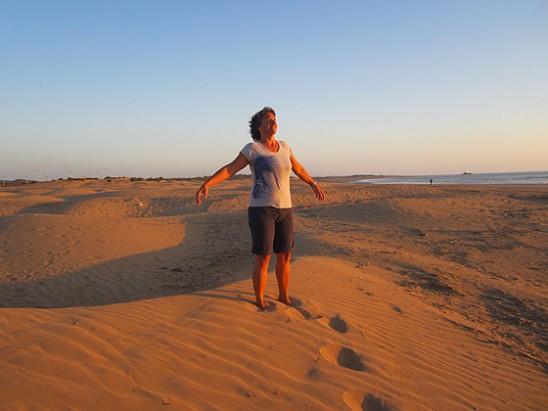 méditation pleine conscience à la plage Gruissan Montpellier Leucate